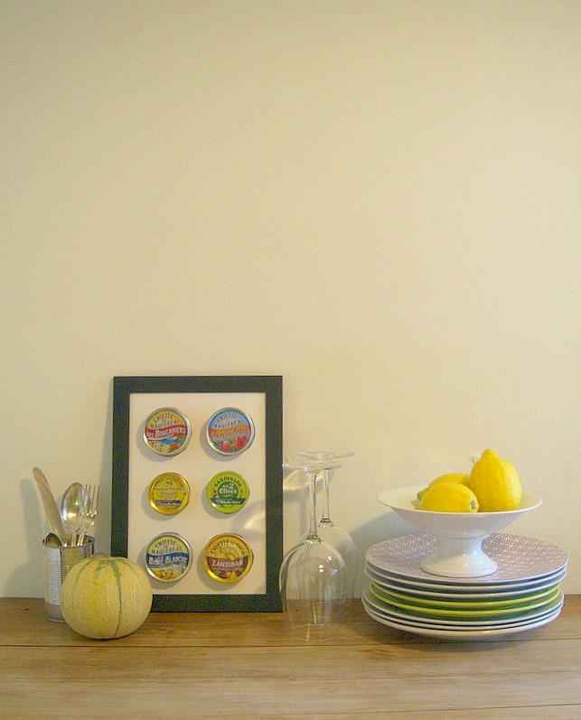 Vaisselle, citrons et conserverie la belle iloise