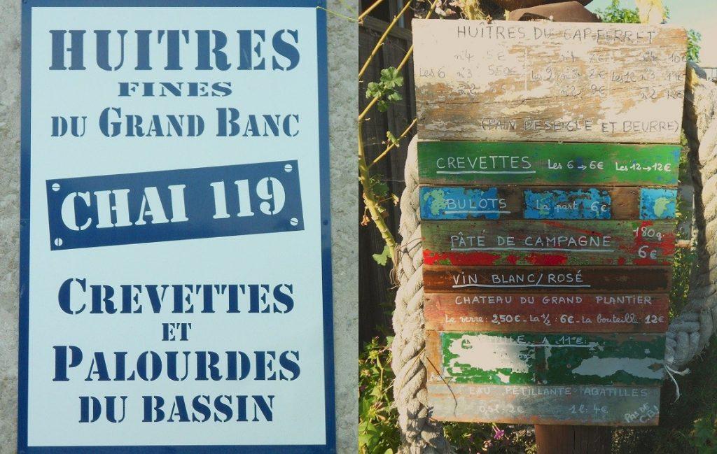 Ecaillers hameau de l'Herbe - Pointe du Cap ferret