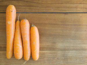 Brownie à la carotte – Deux versions : Végétarien et Vegan