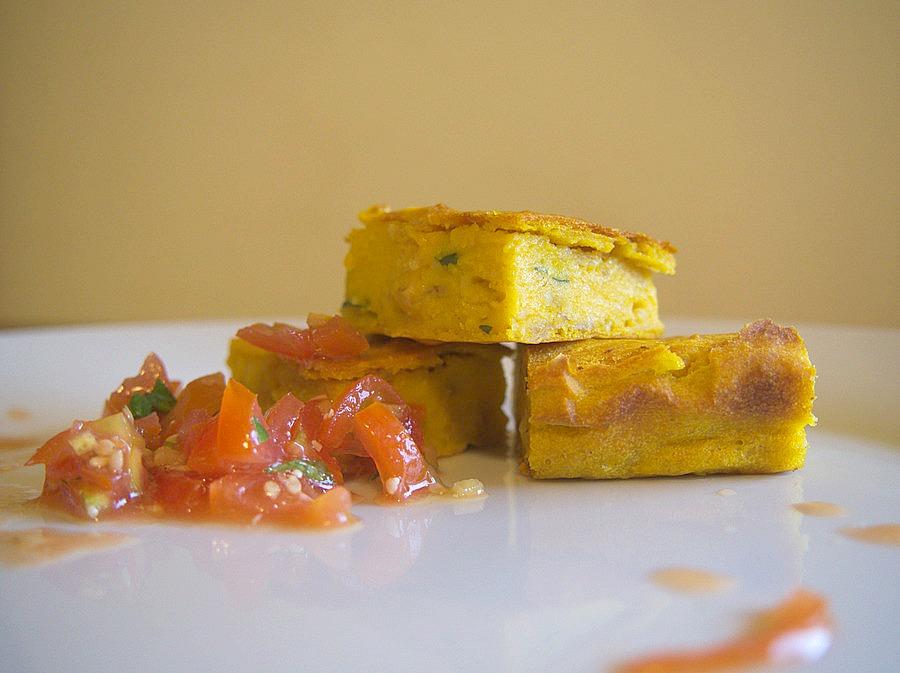 Brownie à la carotte de la campagne à Nini