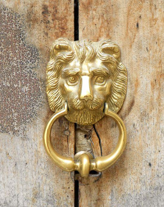 Loquet de porte Lion qui louche