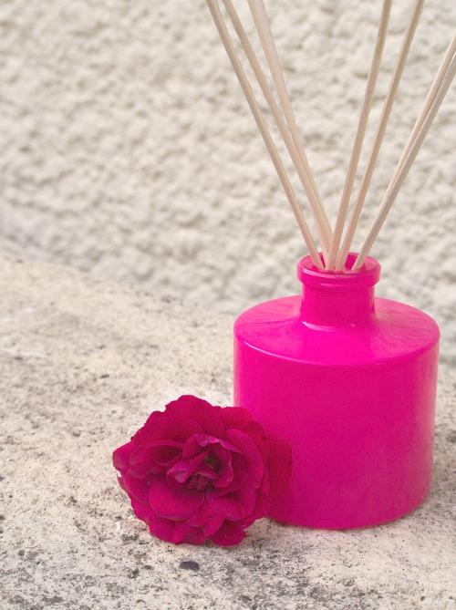 Diffuseur de parfum à capillaire Rose