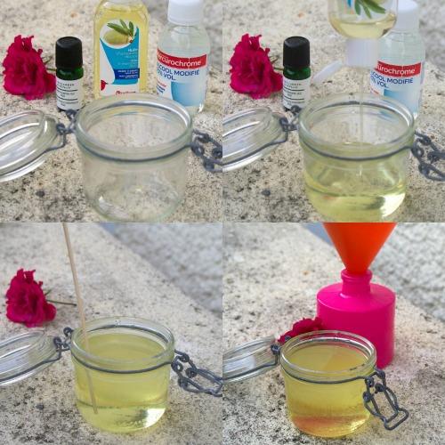 Fabrication du mélange pour diffuseur