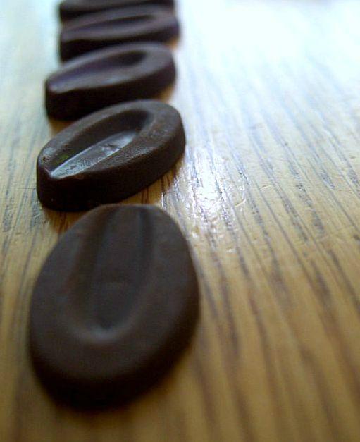 Pastilles au chocolat Valrhona