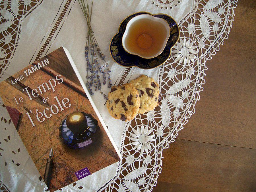 Recette cookies au chocolat et citron confit 4