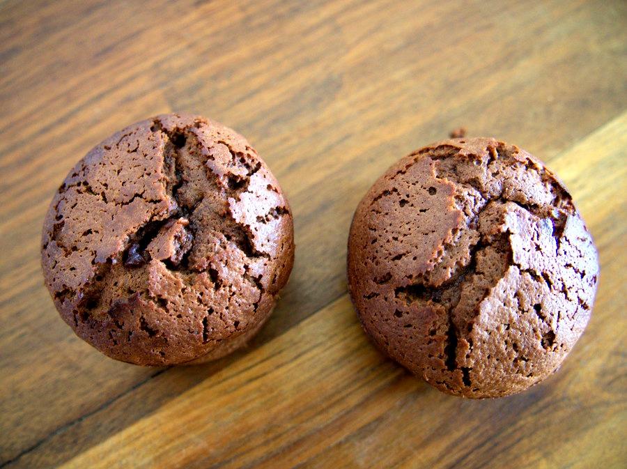 Brownie au chocolat et aux raisins