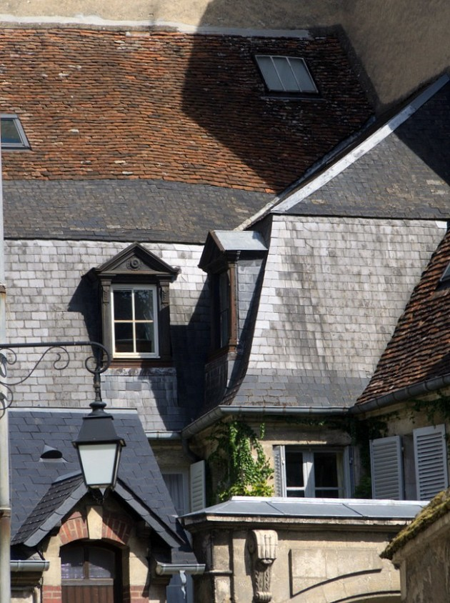 Toiture du coeur historique de Bourges