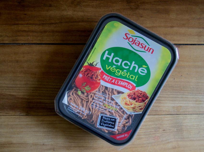 Haché végétal - Sojasun - Protéine de Soja