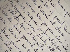 Psycho : S'écrire à soi-même