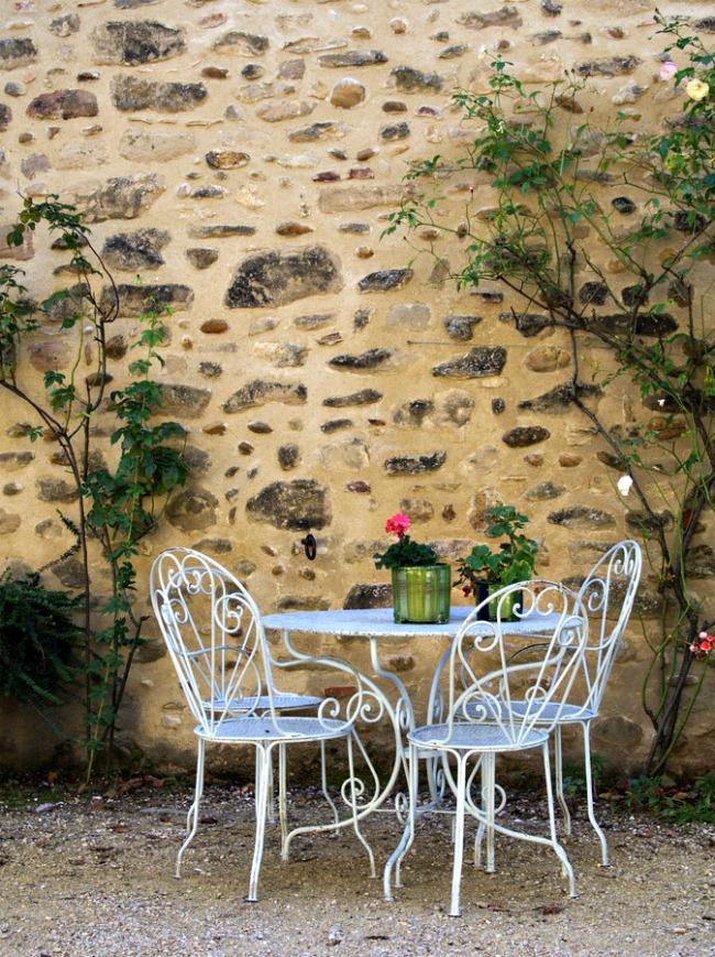 Entrée du jardin botanique de Saint Antoine l'Abbaye