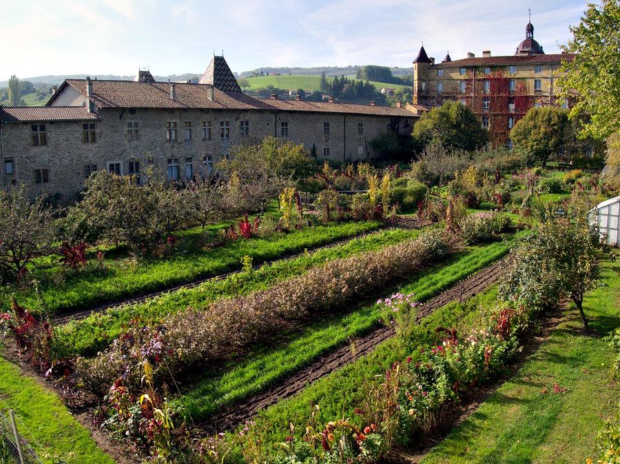 Jardin potager et arboricole de Saint Antoine l'Abbaye