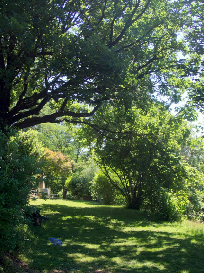Jardin du KERGIO à Saint Uze dans la Drôme
