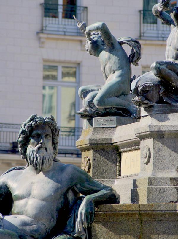 Fontaine de la place Royale à Nantes