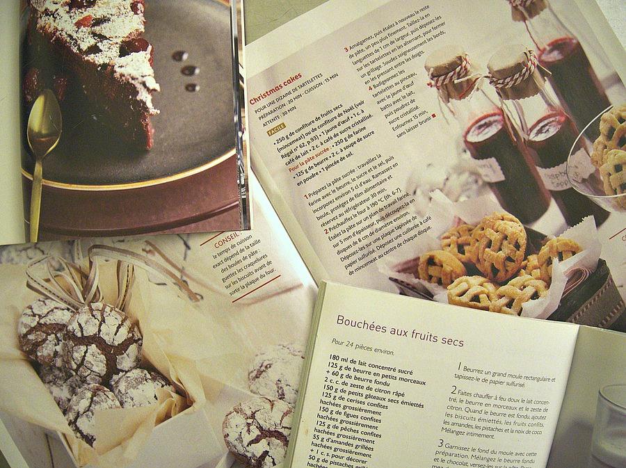 Magazines de cuisine de Noel
