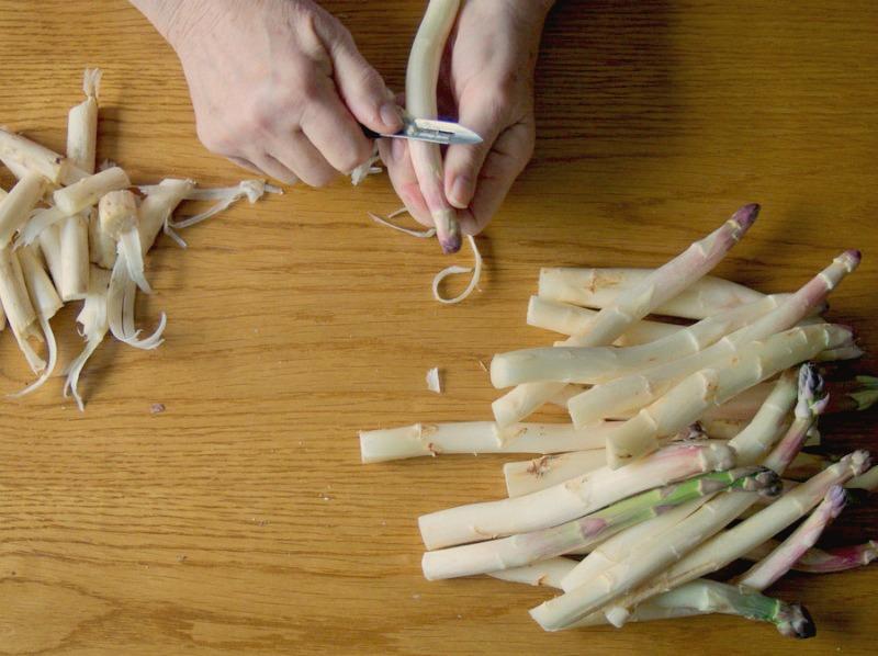 Leçons de cuisine en asperges