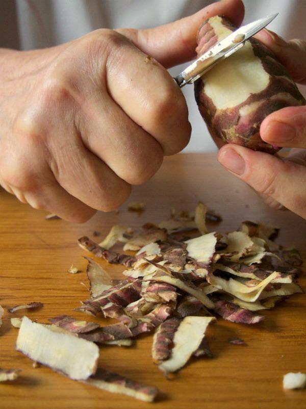 Leçons de cuisine en topinambours