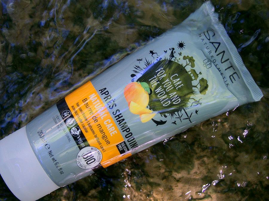 Après-shampooing Natural Care Beurre de mangue - Sante Naturcosmetik