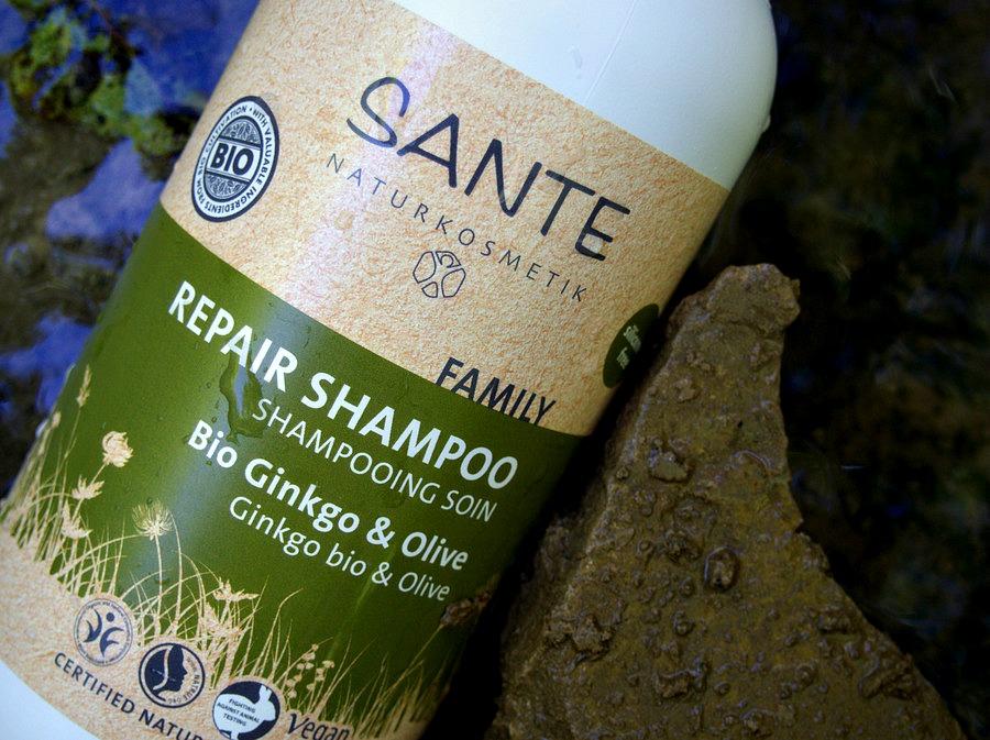 Shampooing soin Gingko BIO et Olive Sante Naturcosmetik
