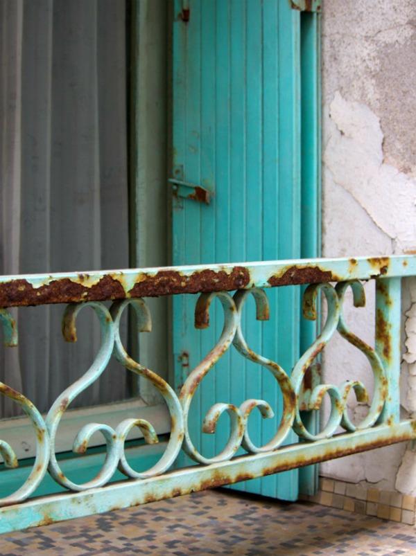 Rue de Sète - Vert Céladon