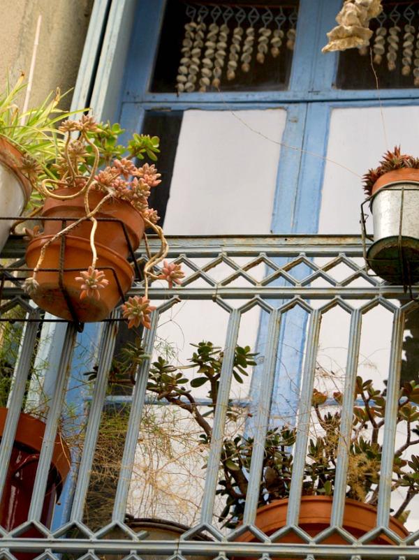 Balcons des ruelles de Sète