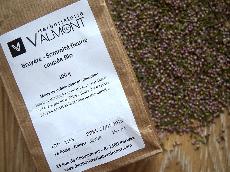 Infusion de bruyère pure - Herboristerie du Valmont