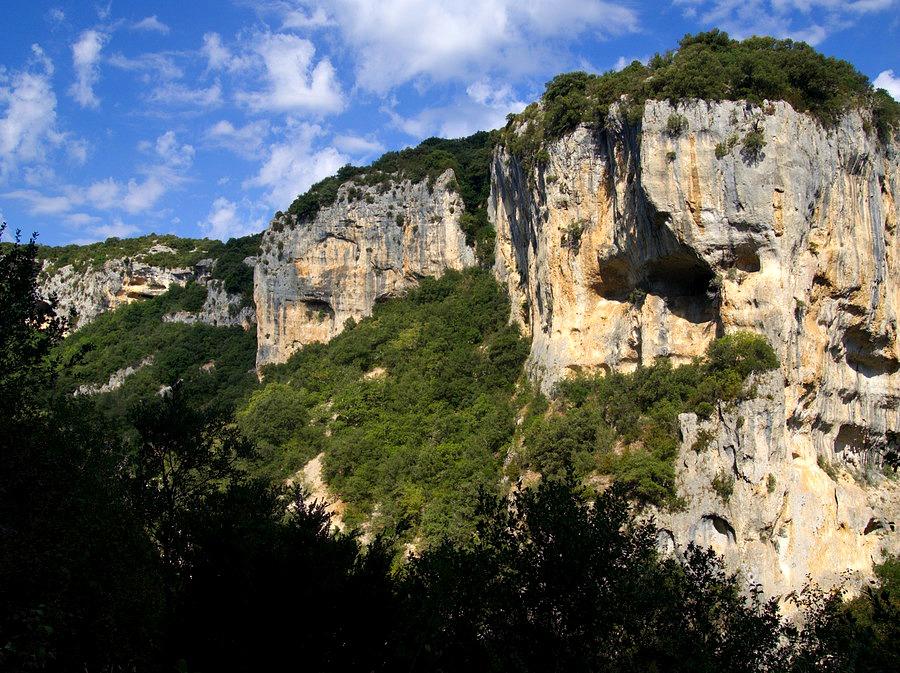 Canyon des Concluses de Lussan