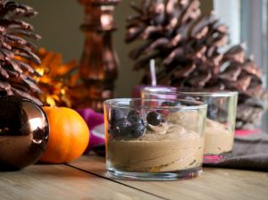Mousse «Chocolat» végétale de Noël