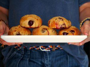 Beignets de cerises – Sans friture, sains et gourmands