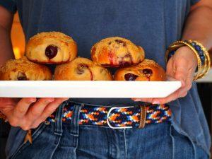 Beignets de cerise sans friture - Vegan, sain et gourmand