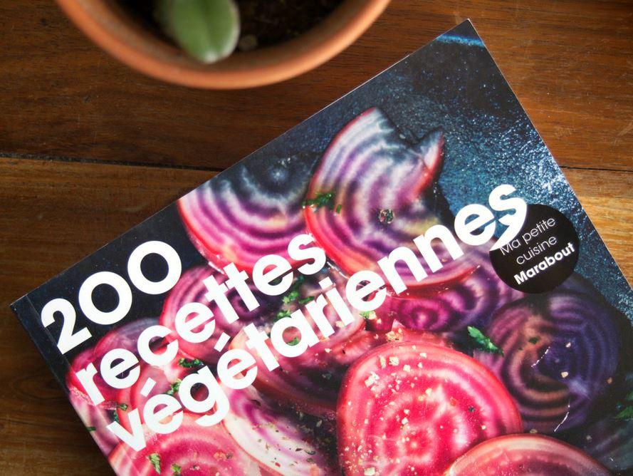200 recettes végétariennes - MARABOUT